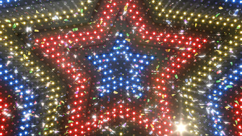 LED Wall 18 5 Star Fa2 4k CG動画