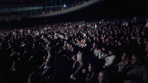 Audience watches the show Footage