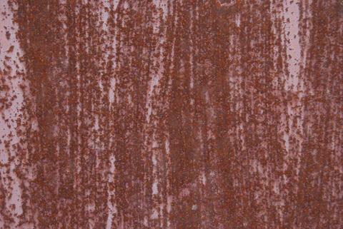Texture of rusty metal Fotografía