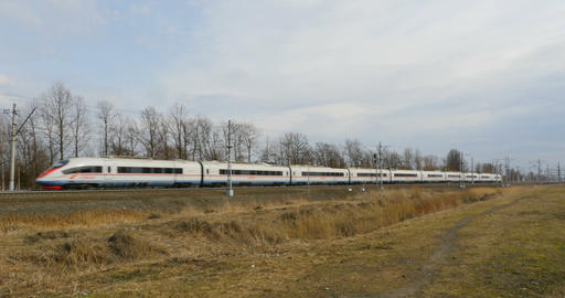 Railway passenger express Peregrine Footage