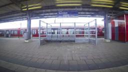 Hamburg city S-Bahn Railway Network, Germany ビデオ