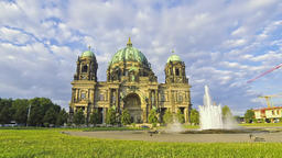 Berlin Cathedral (Berliner Dom), Germany Footage