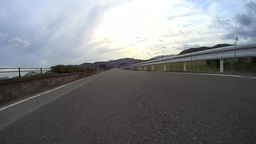 Driving low angle view Time-lapse / ローアングル車載動画 Live Action