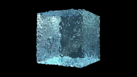 Ice Cube Formation CG動画素材