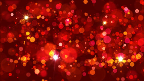 Warm Colors Bokeh Background Loop Image