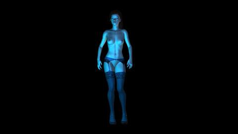 NR178 ToplessDancer Animación