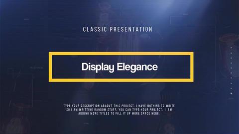 Display Elegance Premiere Pro Template