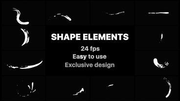 Liquid Shapes Premiere Pro Template