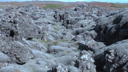 Natural landscape of mountains in Greenland Footage