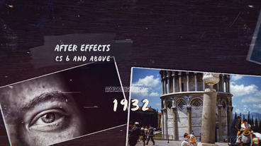 History Timeline III Plantilla de After Effects