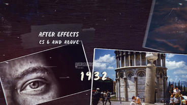 History Timeline III After Effects Template