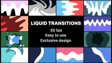 Liquid Transitions After Effects Template