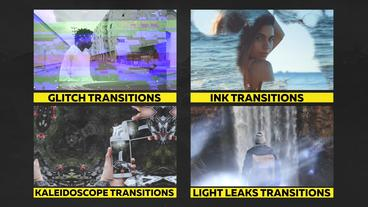 80+ Pack: Transitions, Overlays, Sound Fx เทมเพลต Premiere Pro