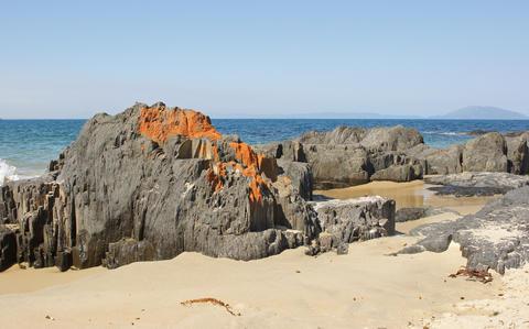 Spiky Beach, Tasmania, Australia Fotografía