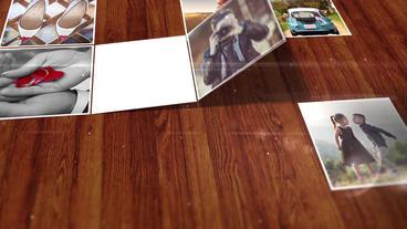 Folding Photo Plantilla de After Effects