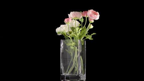 Bouquet of various artificial flowers Archivo