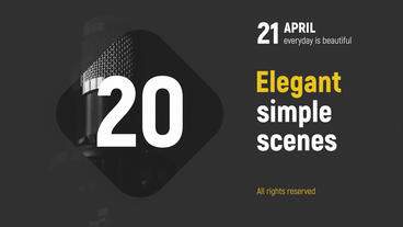 Elegant strong presentation After Effects Template