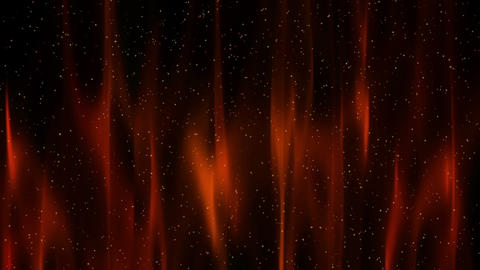Red Theater Curtain with Stars Stock Video Footage