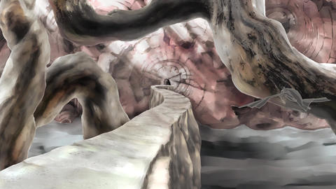 Big tree Cave 6 Animation