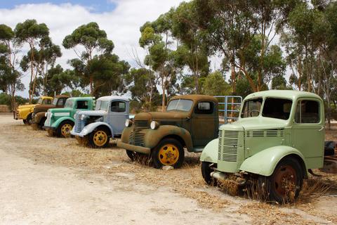 Old Trucks, Australia フォト