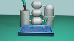 Water purification plant Animation