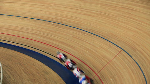 cycling race on the cycle track Footage