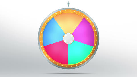 Wheel fortune 5 area 4K Animation