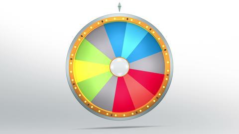 Wheel fortune 12 area 4K Animation