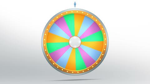 Wheel fortune 16 area 4K Animation