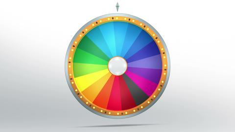 Wheel fortune 18 area 4K Animation