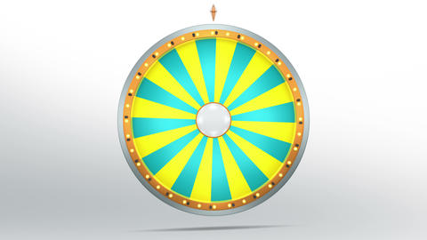 Wheel fortune 24 area 4K Animation