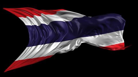 Flag of Thailand Animación