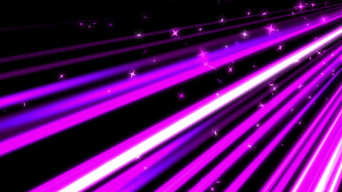 purple lines and stars moving fast background CG動画素材