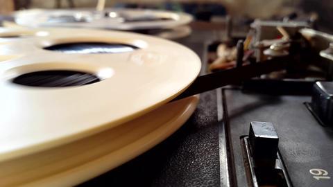 Retro Recording Reel Footage