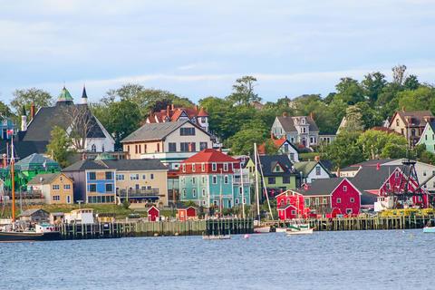 Lunenburg, Nova Scotia Waterfront Fotografía