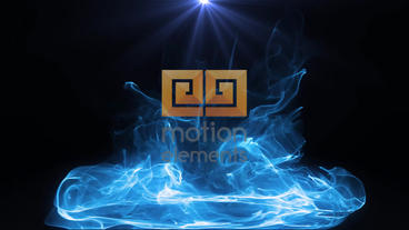 Particle Logo Plantilla de After Effects