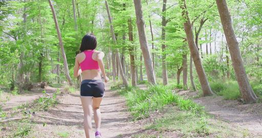 sport woman running Live影片