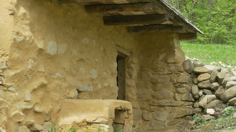 Primitive Clay and Stone House Live Action