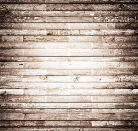 Vintage tiled wood texture Fotografía
