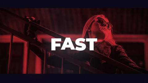 Fast Intro After Effectsテンプレート