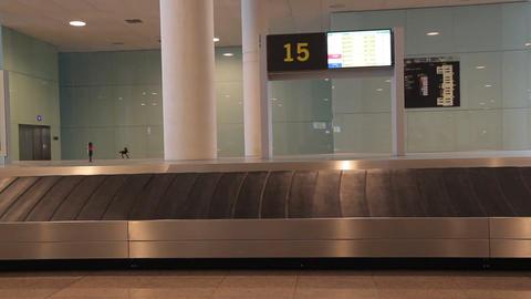 Airport luggage travel terminal ビデオ