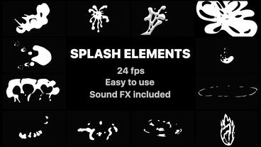Splash Elements Premiere Pro Template