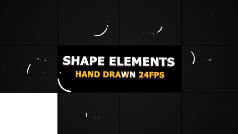 Shape Elements And Transitions Premiere Pro Template