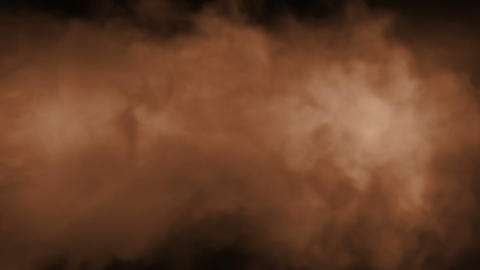 Smoke Background Loop 2 - Warm Color Animation