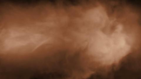 Smoke Background Loop 2 - Warm Color Stock Video Footage