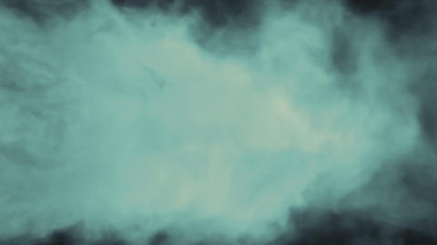 Smoke Background Loop 1 - Blue Green Animation