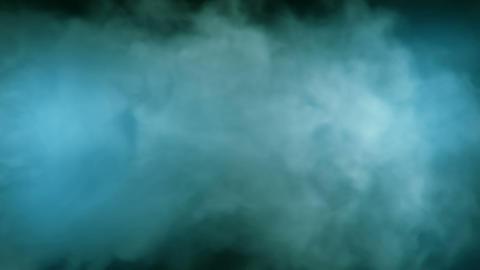 Smoke Background Loop 2 - BlueGreen 02 Animation