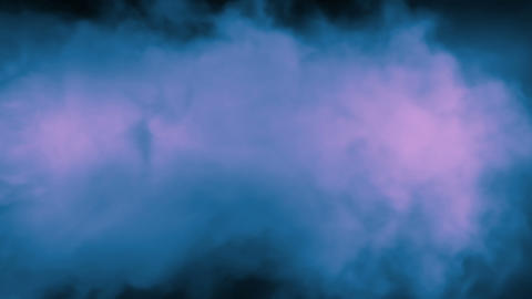Smoke Background Loop 2 - Magical Purple Blue Animation