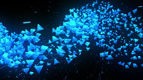 Global business network, Blue Pyramids CG動画