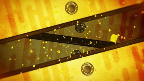 Japanese Style Fusuma Door, Sliding Door Loop Animation CG動画